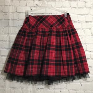 Other - 💥MUST BUNDLE💥Girls Plaid Full Skirt